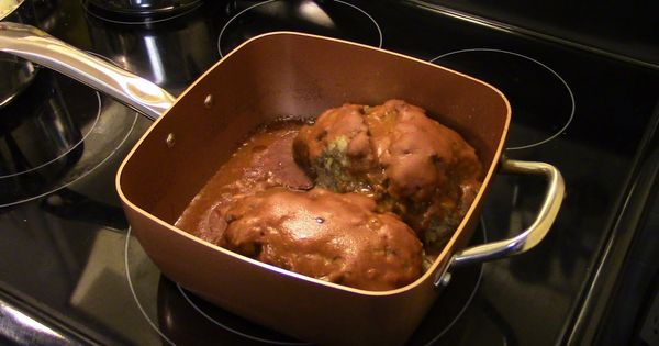 Meatloaf In The Copper Chef Pan Dinner Pinterest
