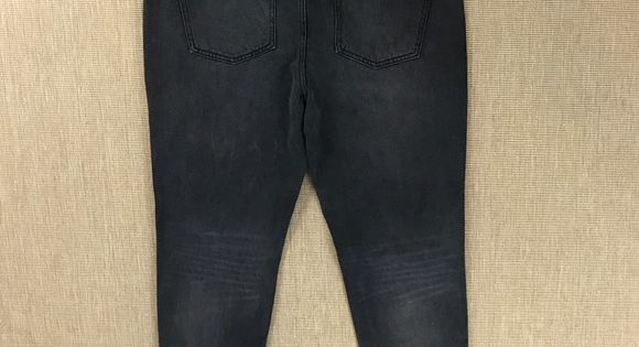 Miss Poured In Blue High Waist Ankle Jeans 12 Blk Ankle Jeans Size 12 Jeans High Waisted
