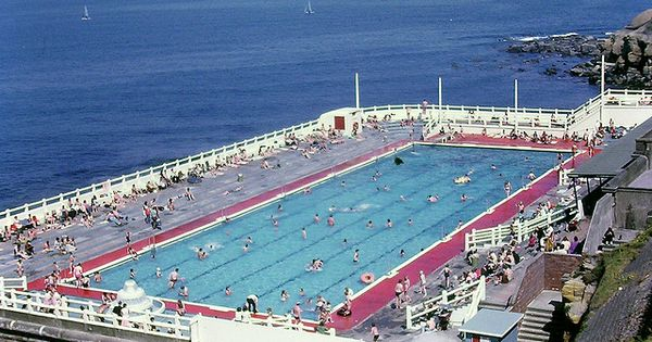 Tynemouth Outdoor Swimming Pool Forty Years Ago Newcastle Upon Tyne My Home Town
