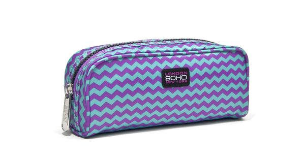 zigzag   pencil case soho beauty brand sohobeauty