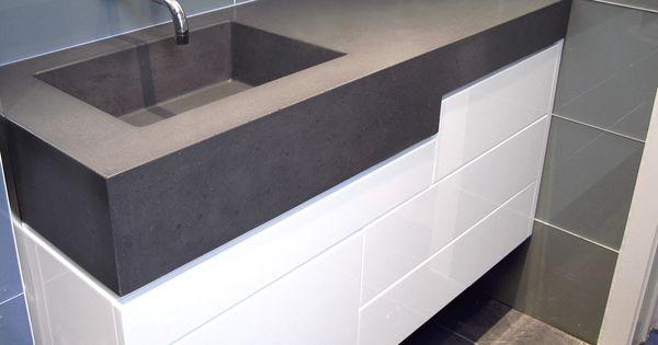 Sink By Trueform Concrete BATHROOM SINKS Pinterest Concrete Sink
