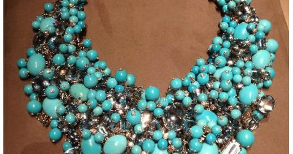 Cate Blanchett in an impressive Tiffany Co turquoise statement necklace.: my Oscar
