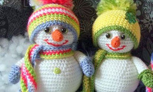 25 Free Amigurumi Snowman Crochet Patterns Christmas Crochet Patterns Crochet Xmas Christmas Crochet