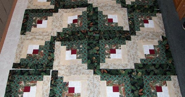 Decor Quilting Log Cabin Quilt Block Layout