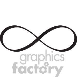 Clipart Of Infinity Symbol Vector Design 392483 Infinity Symbol Tattoo Infinity Sign Tattoo Infinity Symbol Design