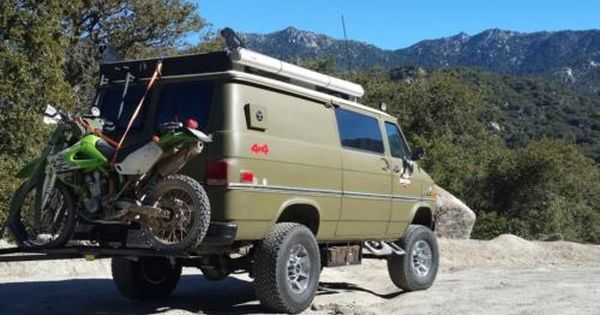 1985 Gmc Vandura Chevy Van Heavy Duty 6 Inch Body Lift Head Turner Chevy Van Chevy Off Road Adventure