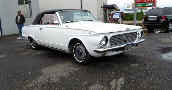 1963 plymouth valiant convertible for sale photo this. Black Bedroom Furniture Sets. Home Design Ideas