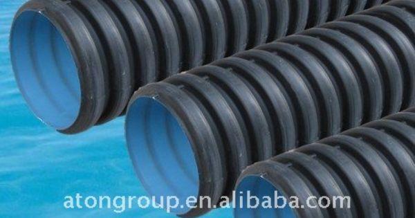 Corrugado de polietileno de alta densidad perforado tubo - Tubo de polietileno precio ...
