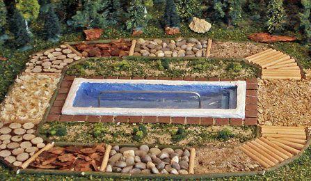Another Barefoot Path With Wading Pool Naturspielplatz Garten Spielplatz Barfusspfad