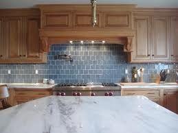 Maple Cabinets Carrara Marble Countertops Glass Backsplash Maple Kitchen Cabinets Kitchen Tile Backsplash With Oak Kitchen Tiles Design