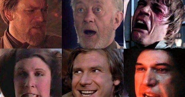 Citaten Yoda : Oh my gosh yoda and leia s face rey xd poe the