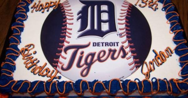 Detroit Tigers Cake Have Your Cake And Eat It Too