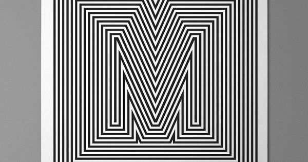 Manifesto. by Josip Kelava lines optical graphic