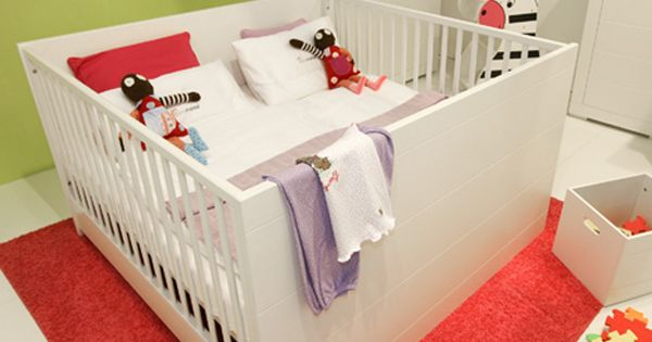 mini meise twin crib twin cribs modern crib and twins. Black Bedroom Furniture Sets. Home Design Ideas