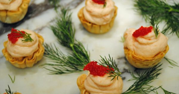 Poached salmon, Dill sauce and Mousse on Pinterest
