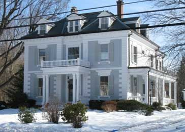 Andover Historic Preservation Andover S Architectural Styles Railings Outdoor Building A House House Roof