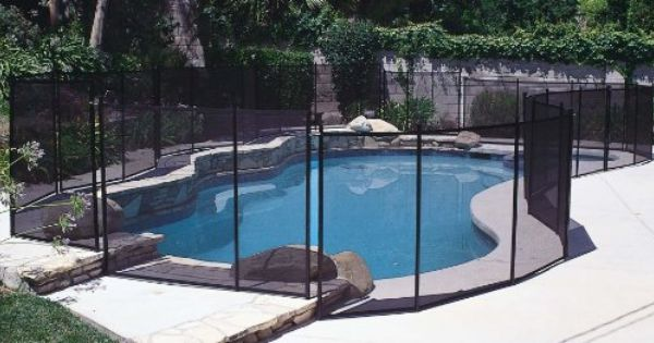 Gli 4 Feet X 12 Feet Safety Fence For In Ground Pools Patio Lawn Garden