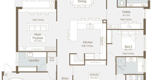 Floor Plan Friday Modern Twist On A Family Home Floor