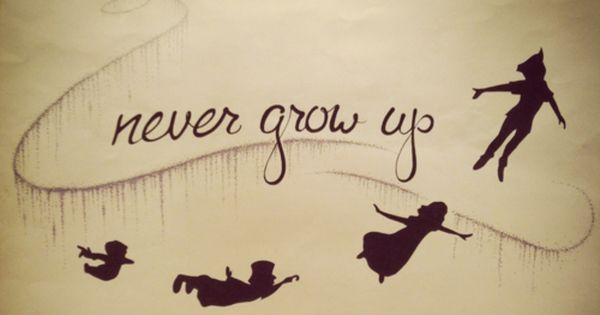Never grow up tattoo idea.. peterpan foreveryoung