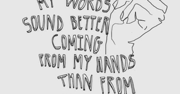 As an introvert, I find my words really do sound better in