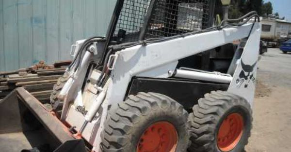 Pin By Contractorassets Com On Used Skid Steers For Sale Used Construction Equipment Construction Equipment Bobcat