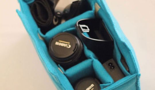DIY camera case for pocketbook