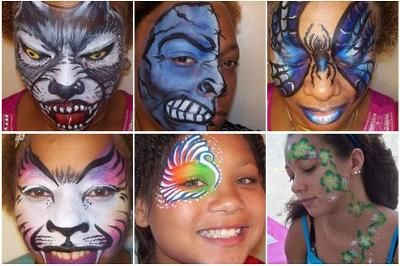 Changing Face Designs Face Painting Face Painting Face Painting Easy Face Painting Designs