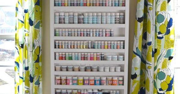 Paint Shelf With Hidden Door Modern Interior Design