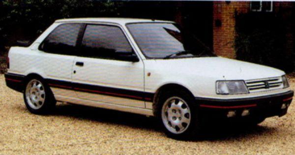 Voiture Peugeot 309 Gti Voiture