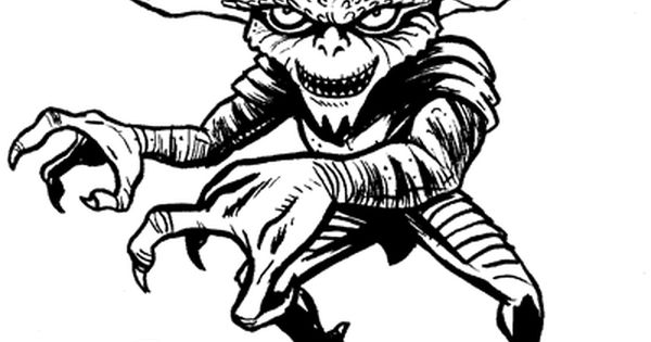 Gremlins Coloring Pages Coloring Pages Halloween Coloring Pages