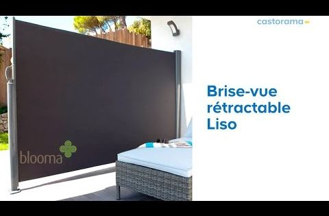 Brise Vue Liso Blooma 619650 Castorama Youtube Flat Screen Bathtub