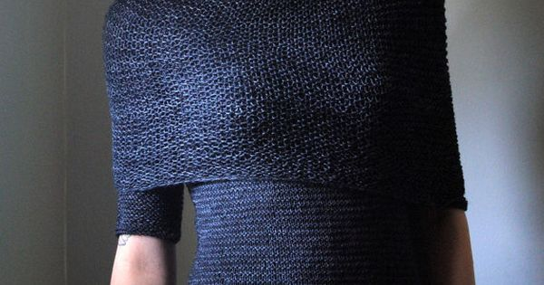 Knitting Garter Stitch In The Round Jogless : Obsidian sweater knitting pattern this garter stitch