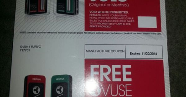 graphic about Vuse Alto Coupons Printable called Vuse electronic vapor discount coupons : Costco coupon british isles