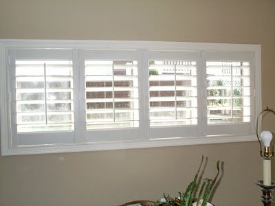 High quality basement window blinds 3 small shutters for for High end window blinds