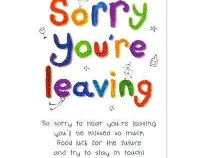 82 Create Leaving Card Template Free In Photoshop With With Sorry You Re Leaving Card Template Card Templates Free Card Template Good Luck Cards