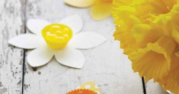 Bricolage Pour P Ques 30 Id Es Mettre En Uvre Cr Ativit Bonbons Jaune Bricolage Pour