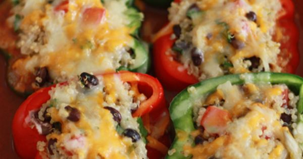 stuffed peppers enchilladas, good way to cut out the carbs. Absolutely making