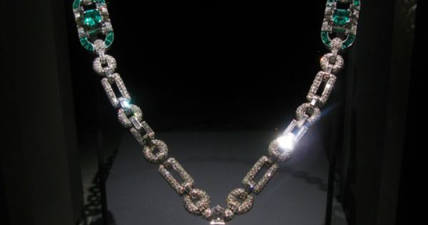 Mackay Emerald and Diamond Necklace by Cartier