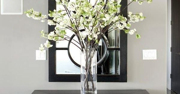 Foyer Table Vases : Entryway table decor inspiration glass vase entry ways