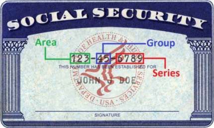 Ssn Check Decoding Social Security Numbers Living In Puerto Rico Decoding South Dakota