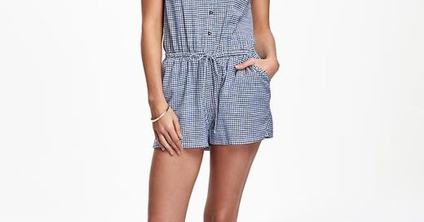 Old Navy Printed Romper For Women