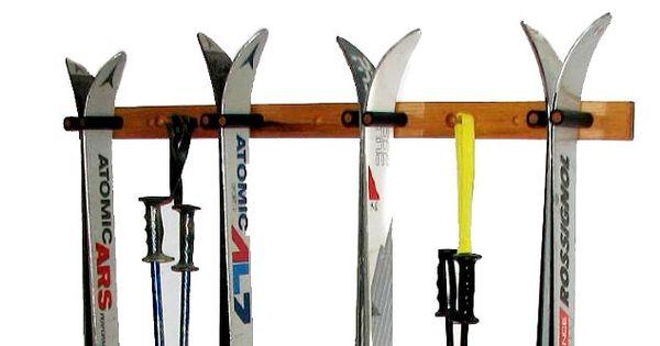 Ski Storage 4 Skis Amp Poles Ski Storage And Racks