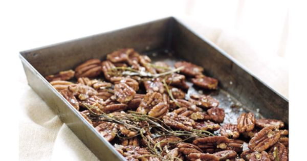 Divine Nuts - Rosemary & Honey Pecans -Sweet Paul Magazine - Winter