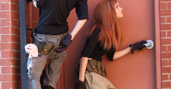 Ron Stoppable and Kim Possible Cosplay!!!!! Love :D