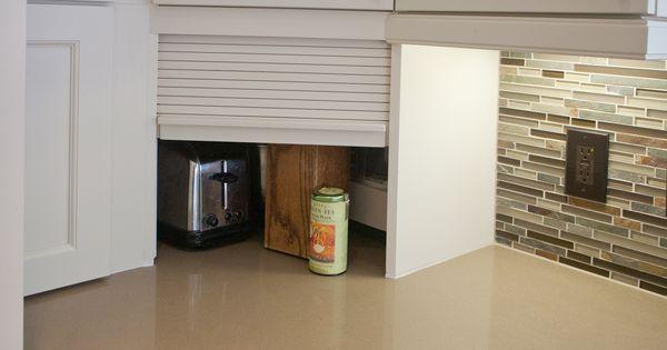 Countertop Appliance Garage : Countertop appliance garage corner solution Carrollton - Belmeade ...