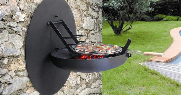 Sigmafocus wall mounted BBQ Grill by Focus