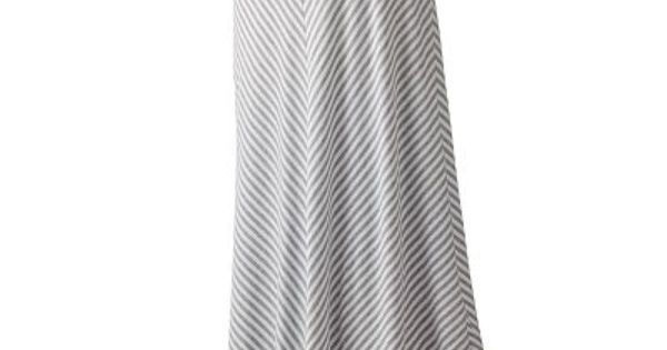 LC Lauren Conrad Chevron Stripe Maxi Skirt