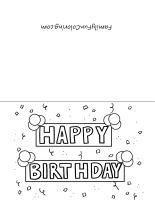 Valentine Card Design Happy Birthday Card Template Black And White