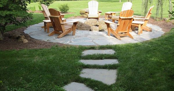 Natural Flagstone Patio Fire Pit Patio Flag Stone And