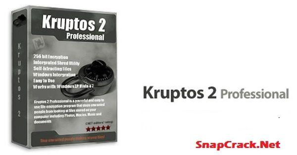 kruptos 2 professional activation